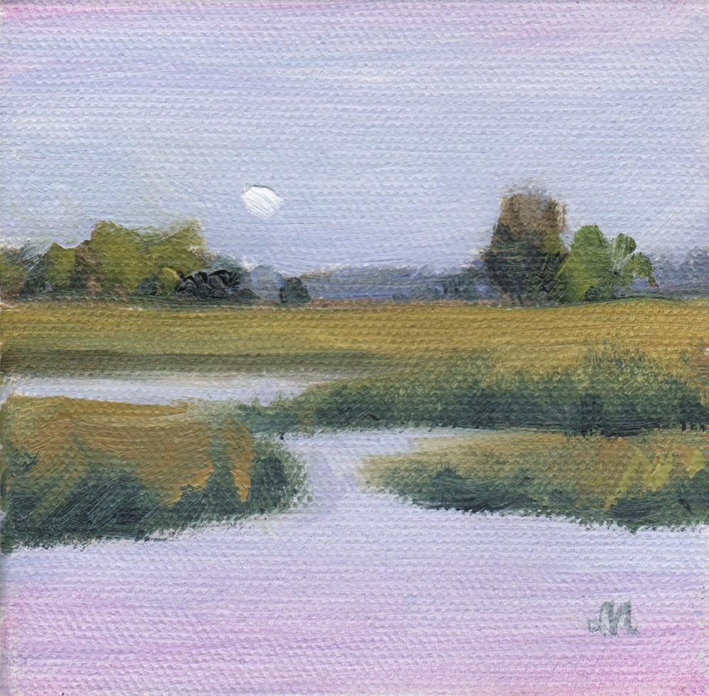 """Mini Marsh"" original fine art by Michel McNinch"