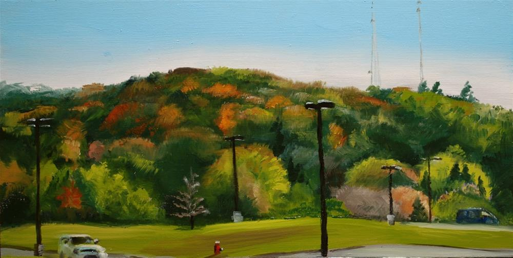 """Green Hill"" original fine art by Gary Westlake"