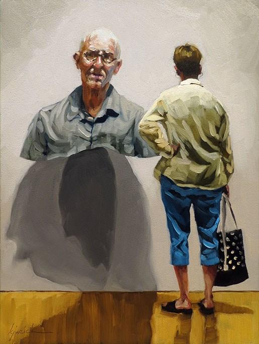 """Head and Shoulders"" original fine art by Karin Jurick"