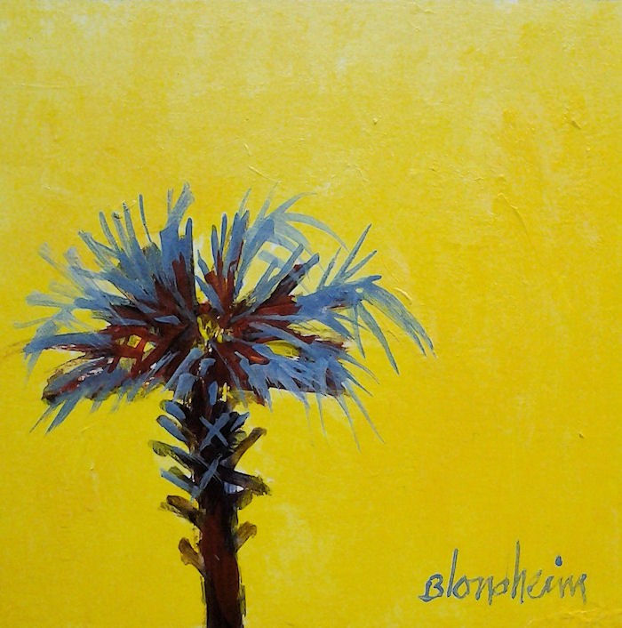 """Palm Icon 2"" original fine art by Linda Blondheim"