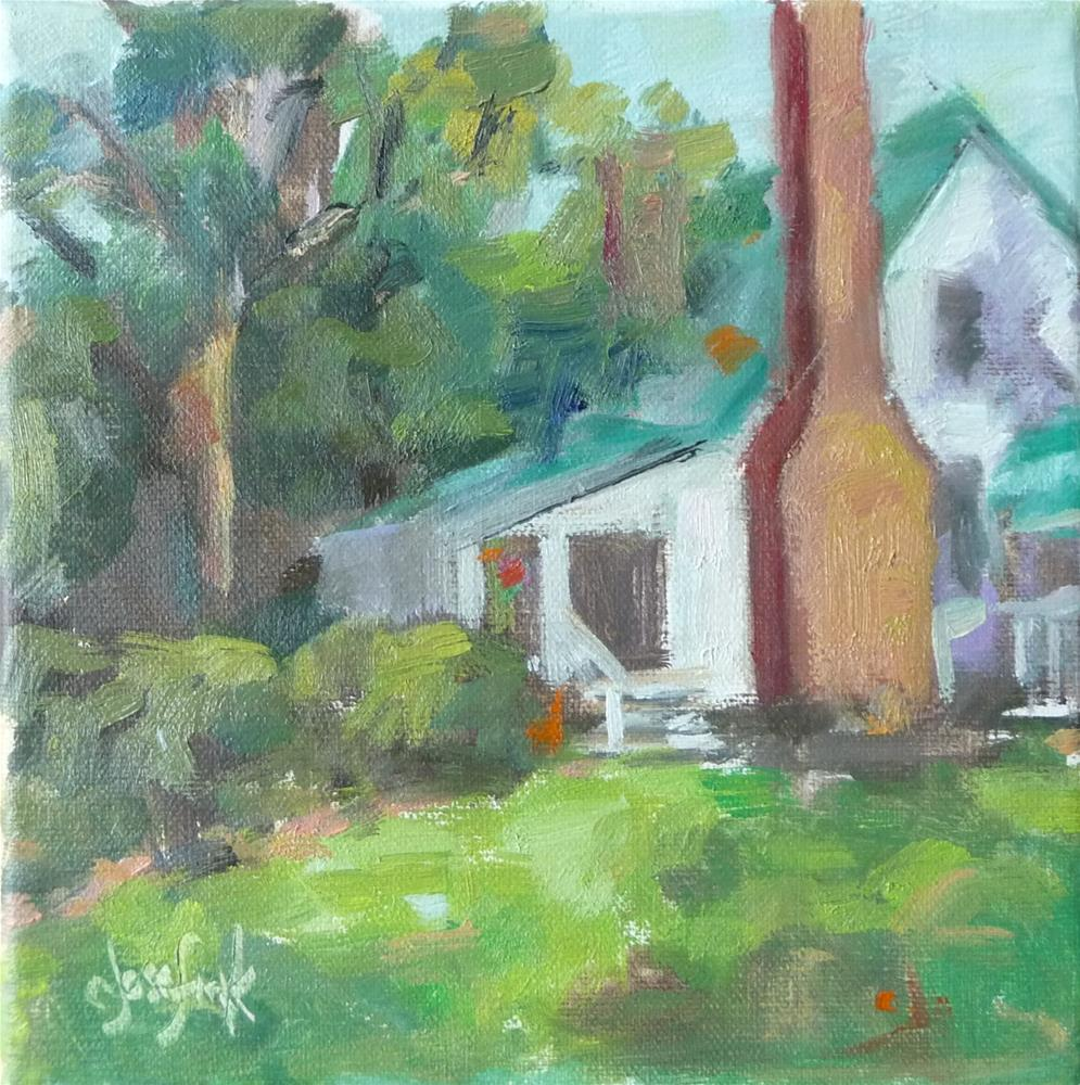 """Lansdowne Farm"" original fine art by Carol Josefiak"