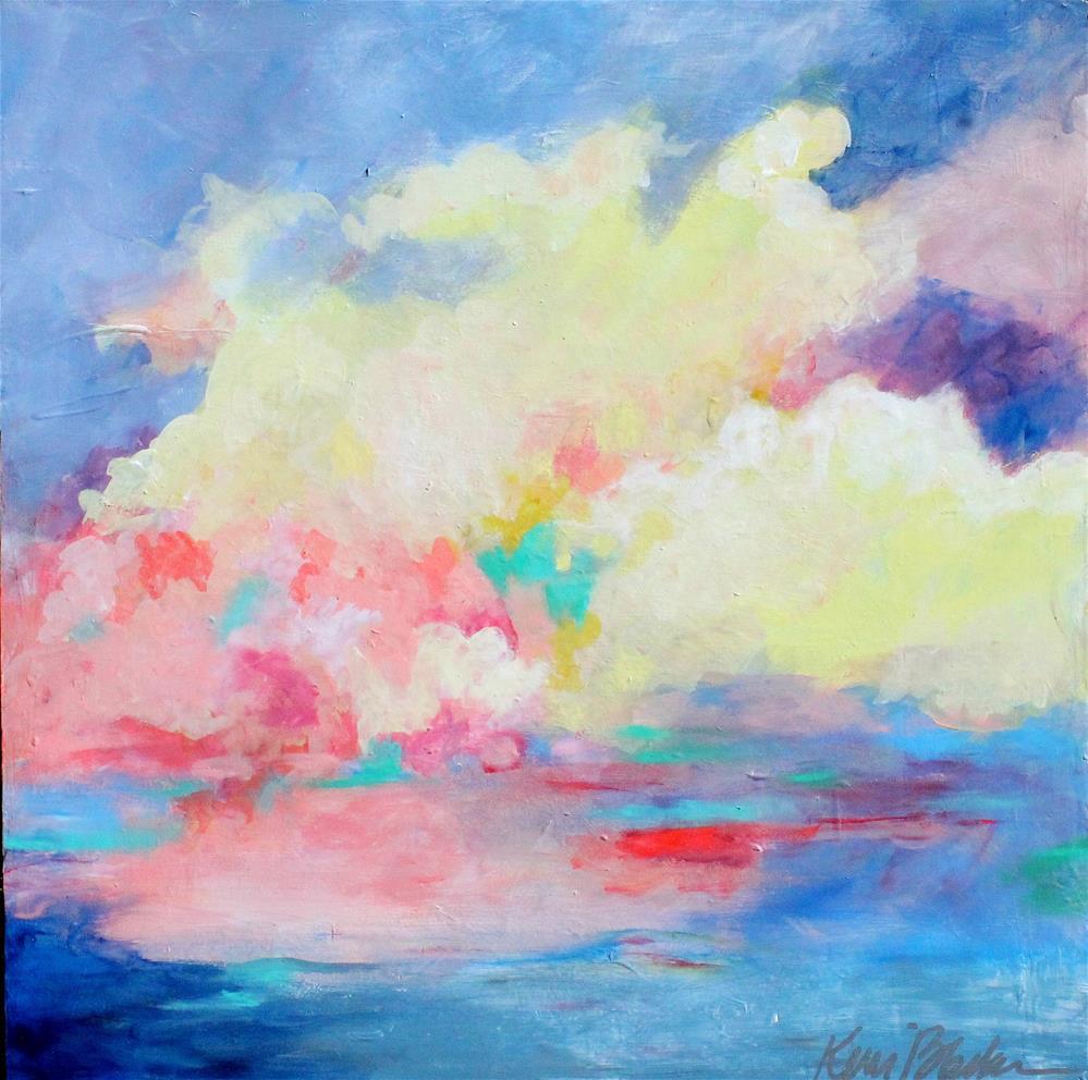 """""""Clouds Coming In"""" original fine art by Kerri Blackman"""