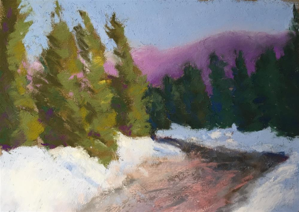 """Gore Creek Vail, Colorado 2"" original fine art by Sandi Miller"