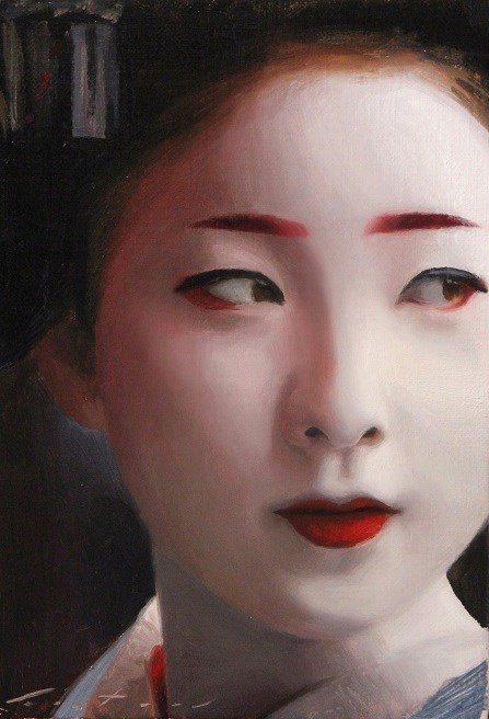 """Maiko"" original fine art by Phil Couture"