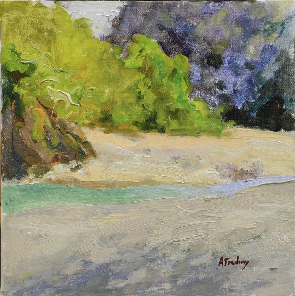 """Redway Beach"" original fine art by alicia tredway"
