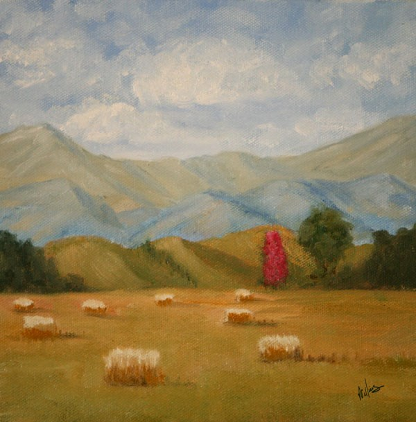 """Valley View"" original fine art by Sunny Williams"
