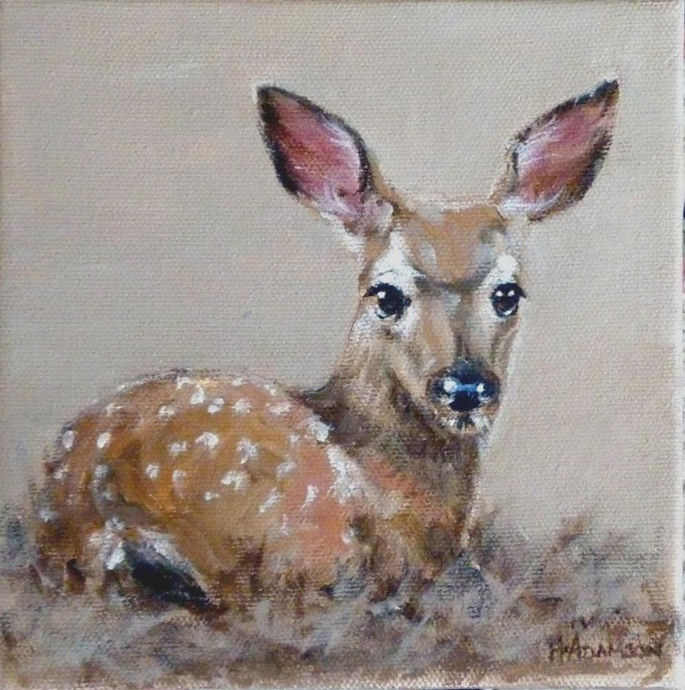 """The Ears Have It"" original fine art by Helene Adamson"