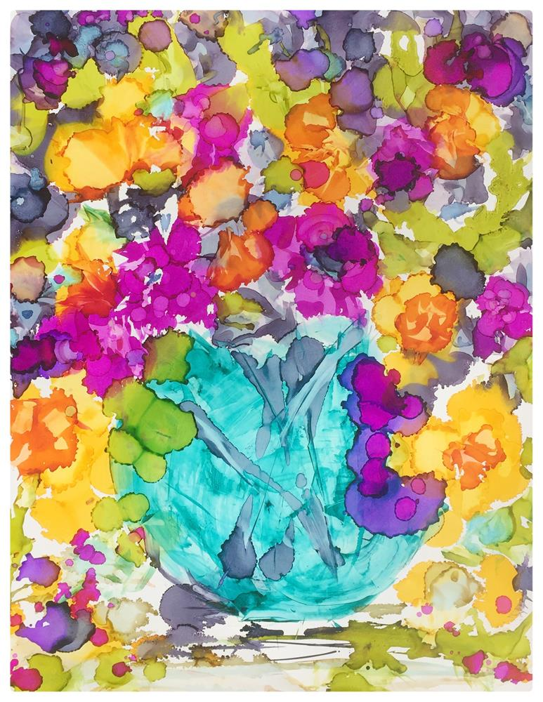 """September Bouquet"" original fine art by Kelly Alge"