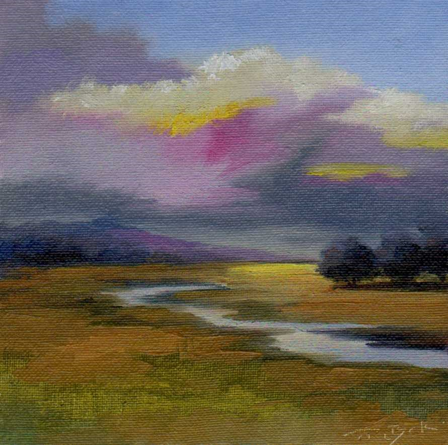"""after rain"" original fine art by Vova DeBak"