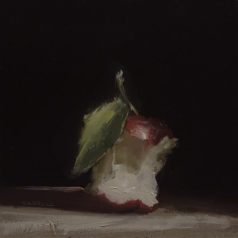 """""""Apple Core"""" original fine art by Neil Carroll"""