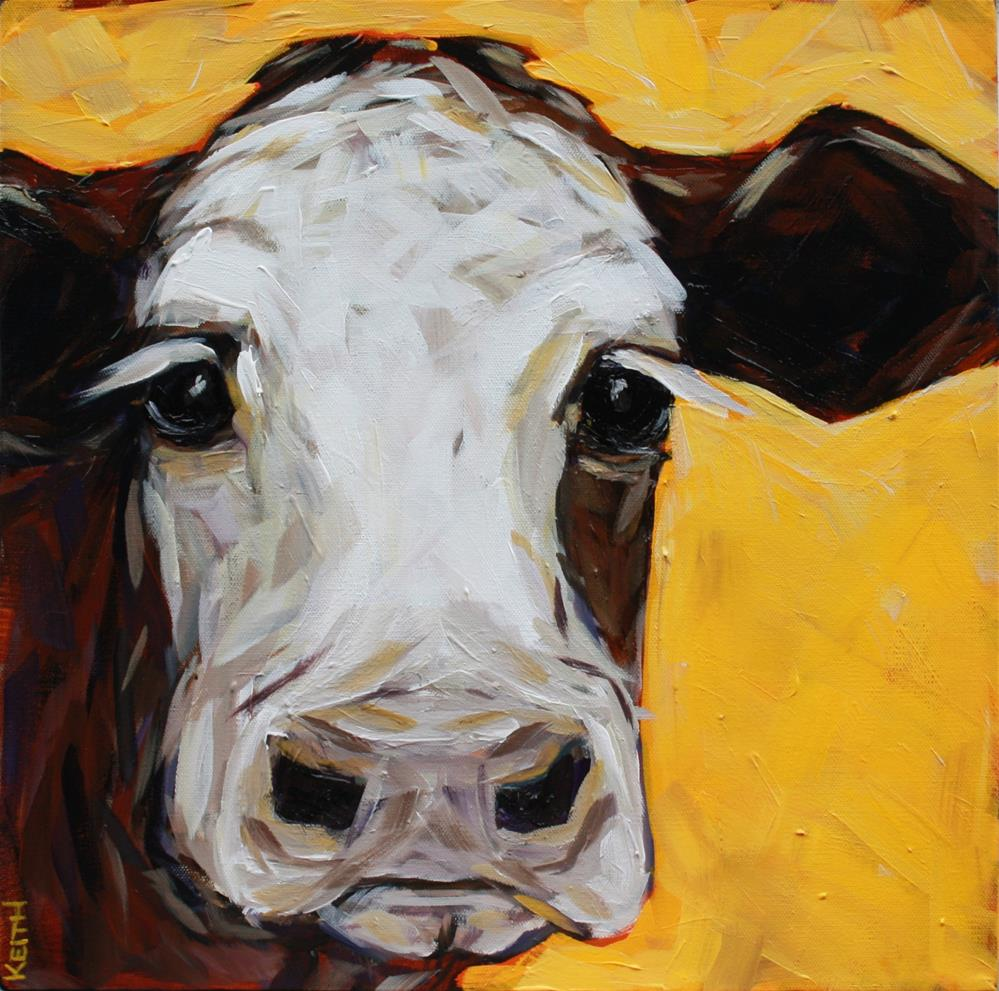 """Tbone"" original fine art by Kandice Keith"