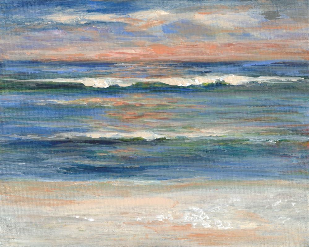 """1026 - Blue Horizon"" original fine art by Sea Dean"