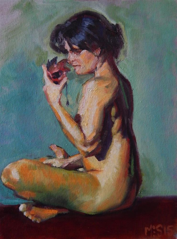 """""""Color Experiment"""" original fine art by Megan Schembre"""