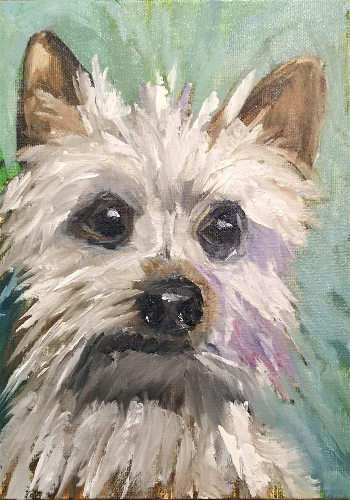 """Bentley"" original fine art by Renee Robison"