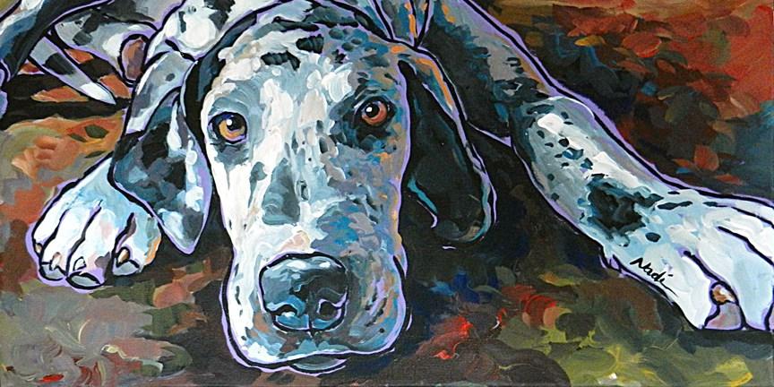 """Taylor"" original fine art by Nadi Spencer"