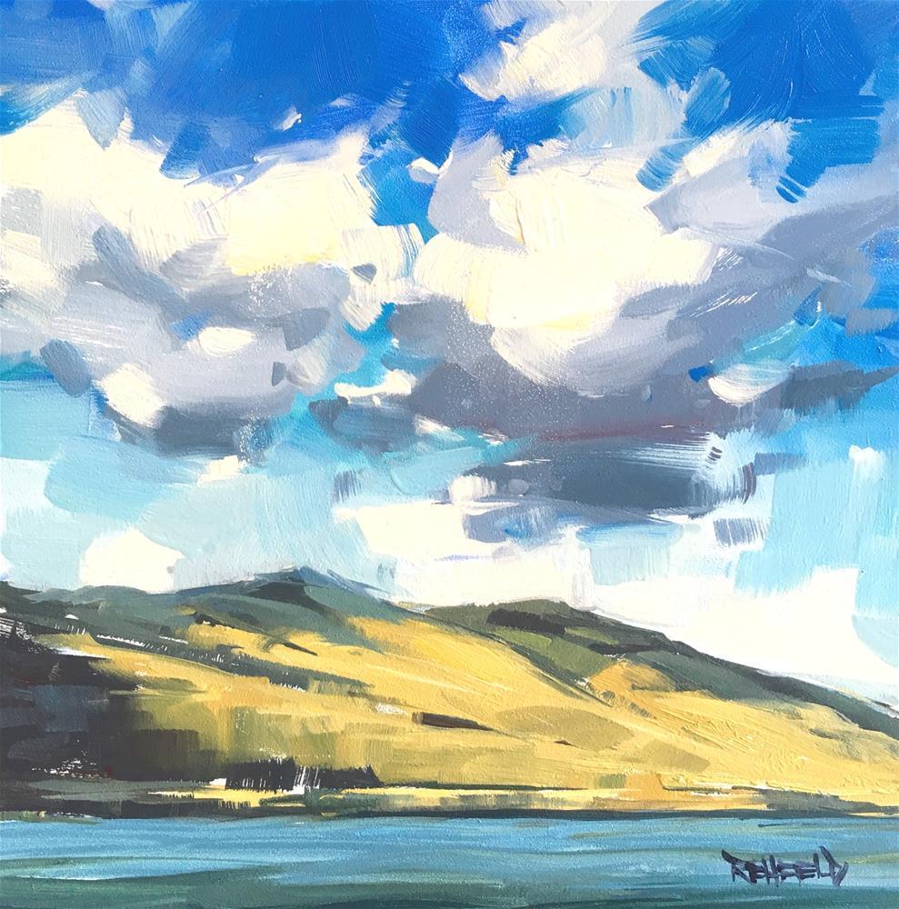 """Sunny Gorge"" original fine art by Cathleen Rehfeld"
