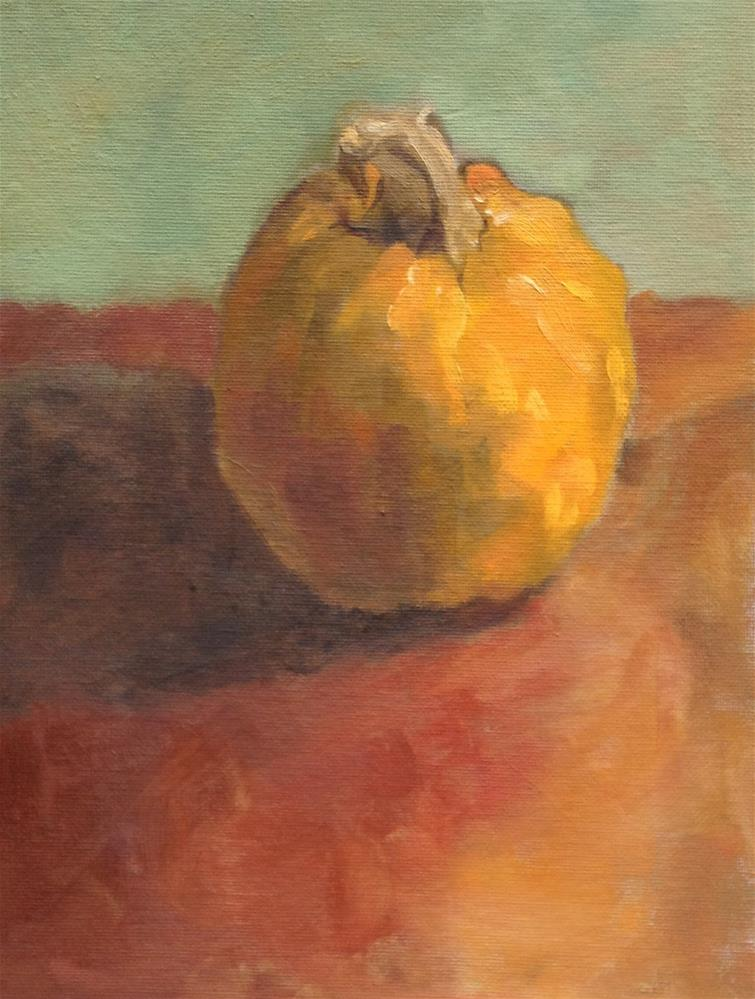 """One Little Pumpkin"" original fine art by Philla Barkhorn"
