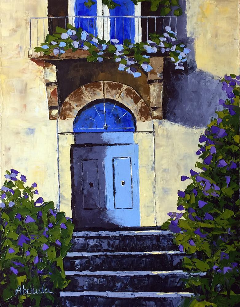 """Door with Arch"" original fine art by Sandy Abouda"