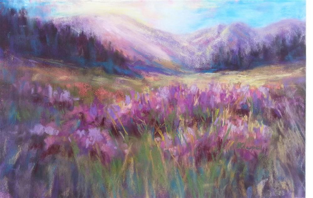"""Schofield Morning 2"" original fine art by Becky Chappell"