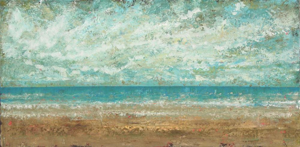 """""""Beach Weather"""" original fine art by Sage Mountain"""