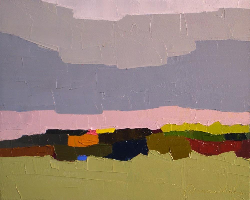 """Terrain XI"" original fine art by Donna Walker"