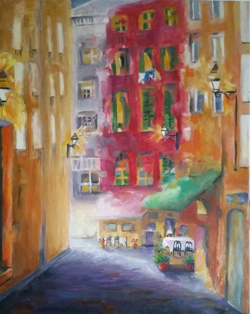 """""""A Day in France"""" original fine art by Dana C"""