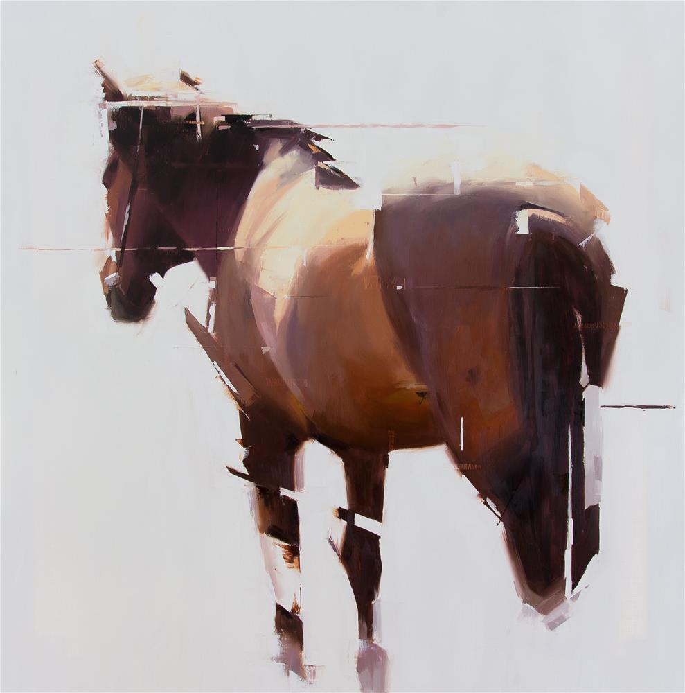 """""""Icelandic Horse 2"""" original fine art by Thorgrimur Andri Einarsson"""