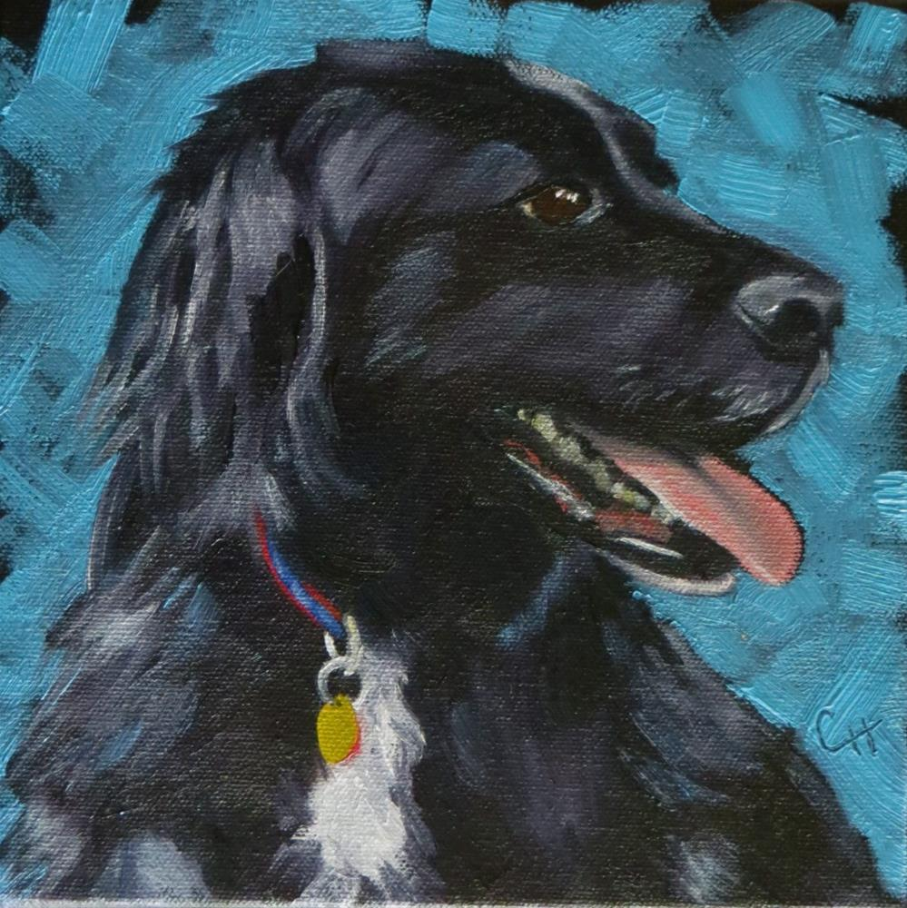 """""""Samson"""" original fine art by Claire Henning"""