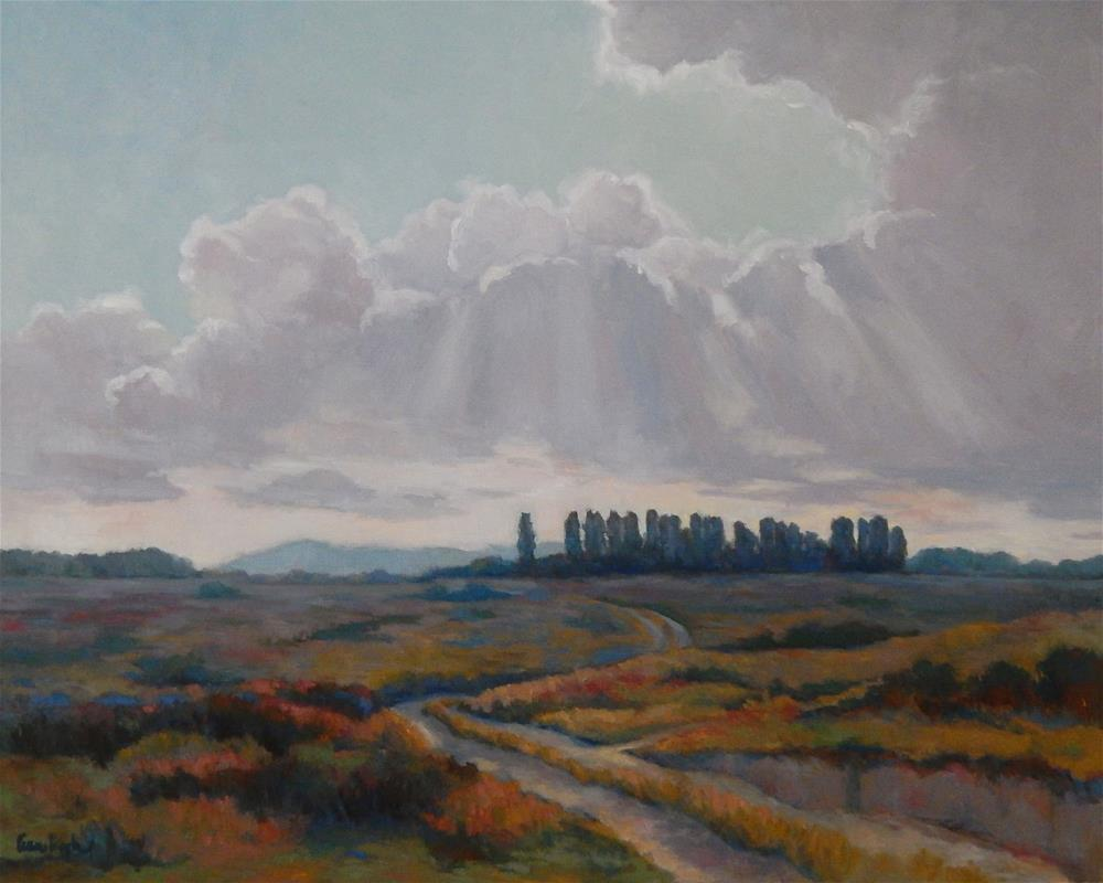 """Cloud Drama"" original fine art by Lisa Kyle"