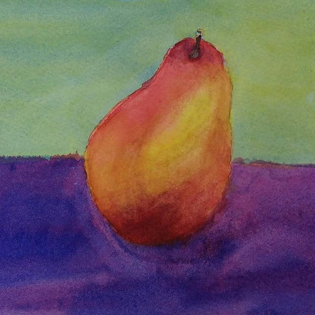 """My Latest Watercolor Painting"" original fine art by Maria Peagler"