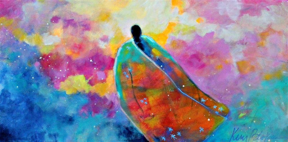 """Sky Weaver "" original fine art by Kerri Blackman"