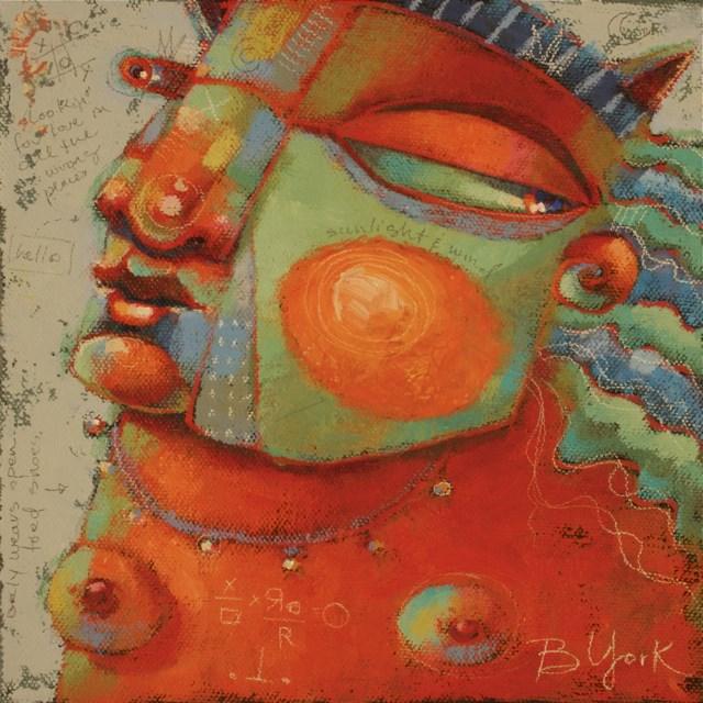 """Poetry In Motion"" original fine art by Brenda York"