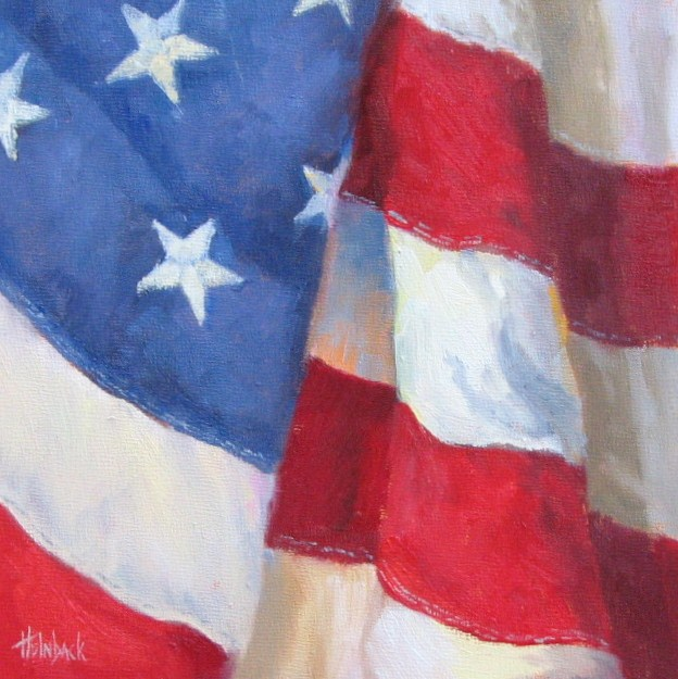 """Veterans Day"" original fine art by Pam Holnback"