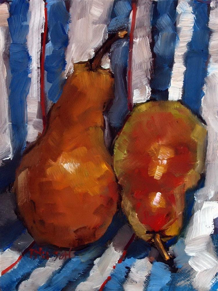"""Pears"" original fine art by Rick Nilson"
