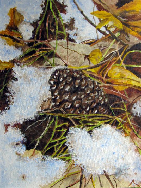 """Translucent Edges"" original fine art by Nan Johnson"