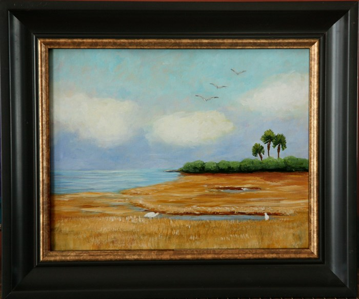 """""""Lowcountry, an original painting by contemporary artist Sunny Williams"""" original fine art by Sunny Williams"""