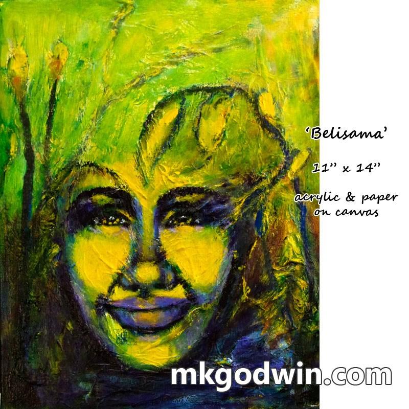 """Belisama"" original fine art by Marie K Godwin"