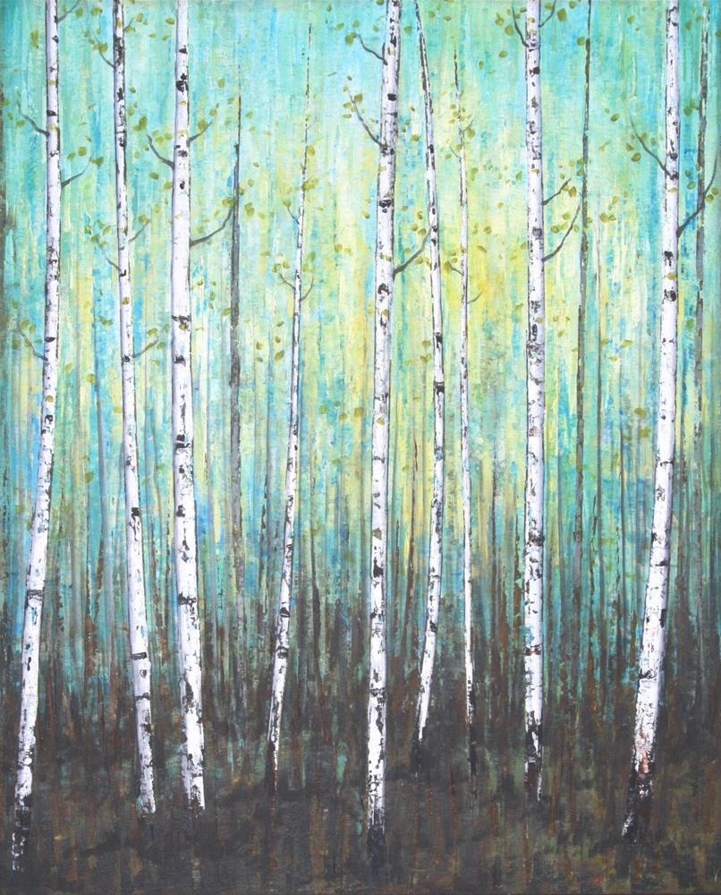 """Song of the Forest"" original fine art by Sage Mountain"