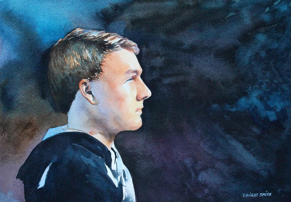 """"""" EIGHTEEN """" original fine art by Dwight Smith"""