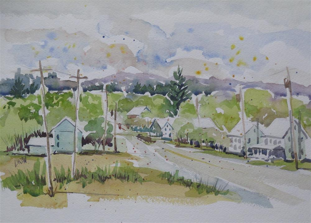 """Rossville, Pennsylvania by Larry Lerew 101022"" original fine art by Larry Lerew"