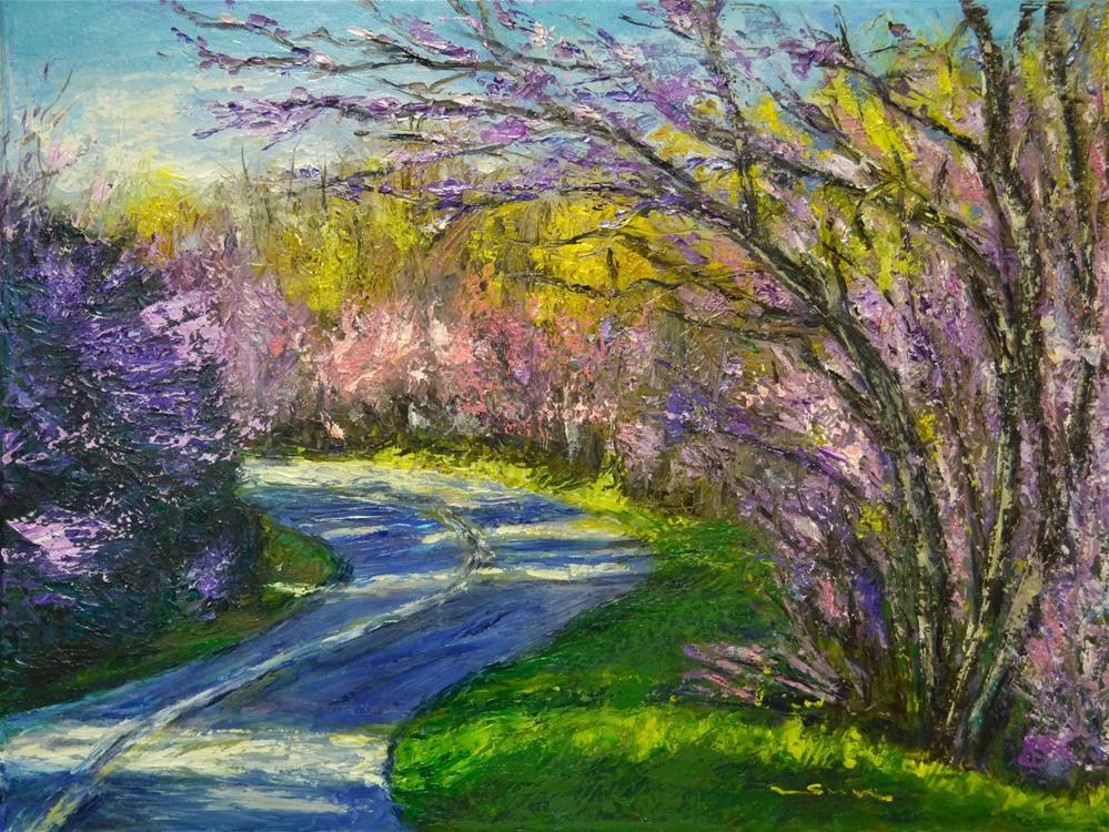 """Spring is here"" original fine art by Sun Sohovich"