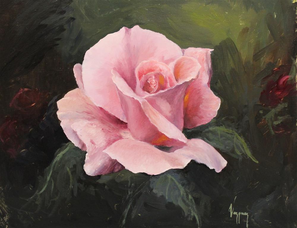 """rose"" original fine art by Marco Vazquez"