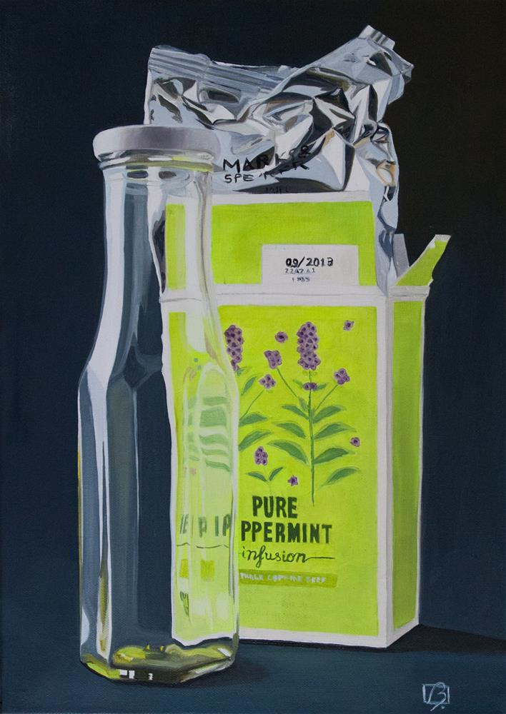 """Pure Peppermint"" original fine art by Andre Beaulieu"