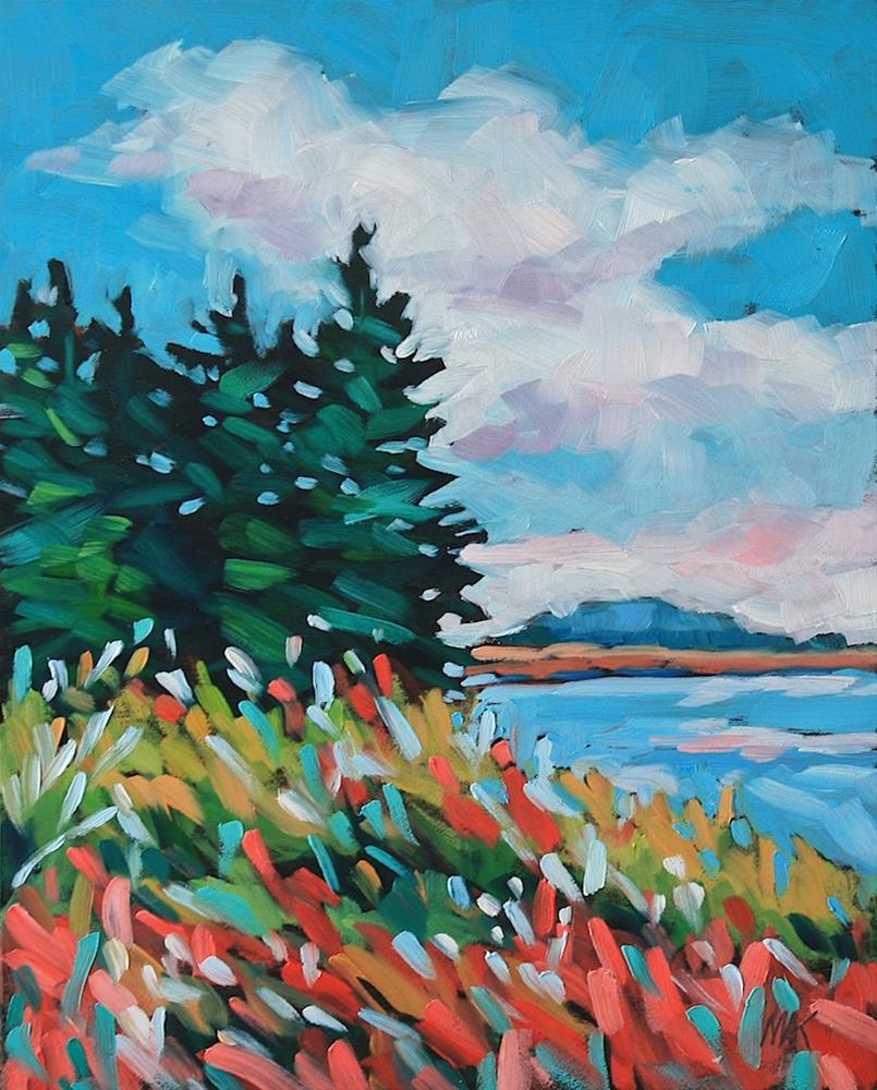 """Island Colors"" original fine art by Mary Anne Cary"