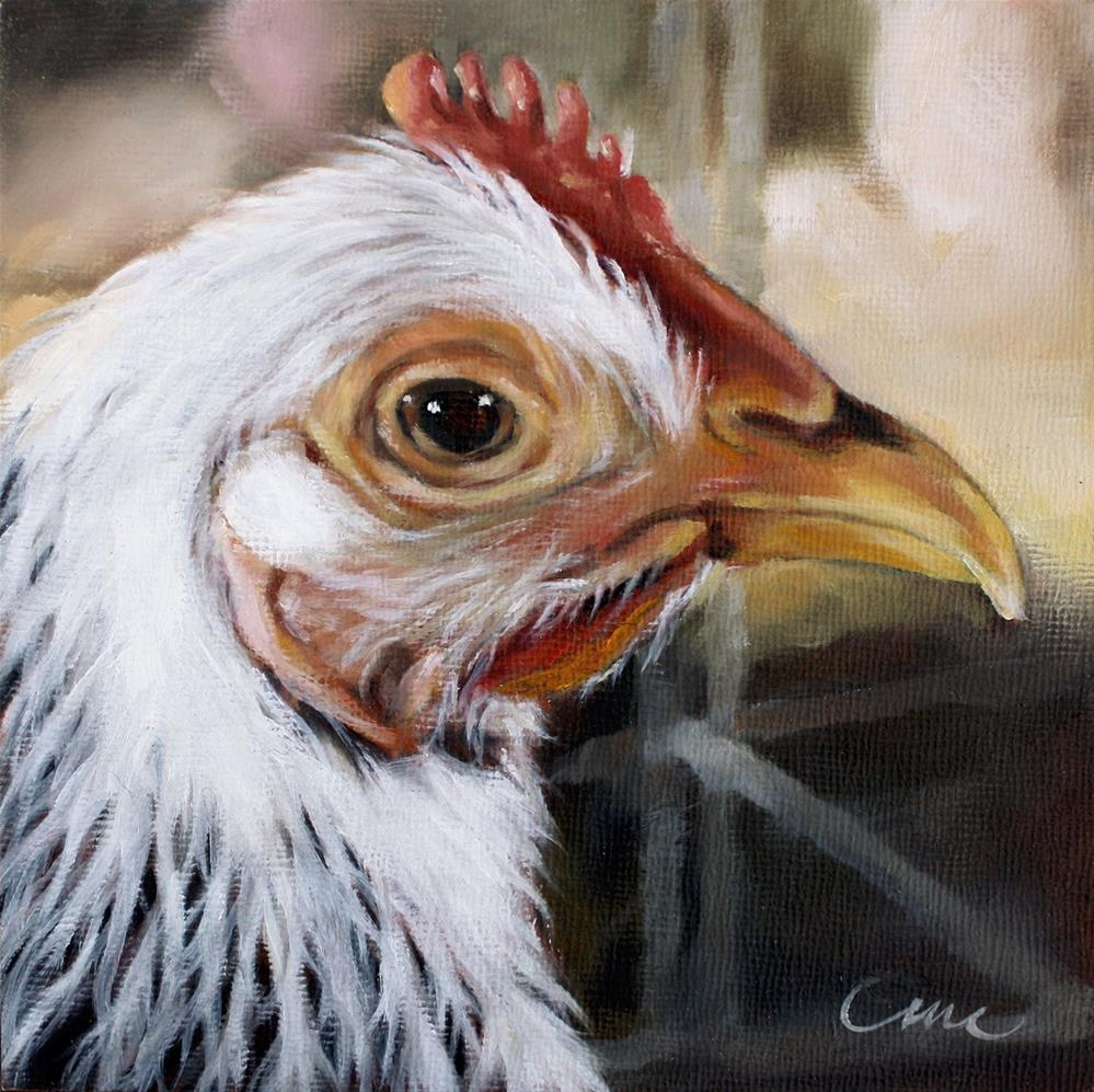"""A Cute Chick"" original fine art by Carolyn McQuarters"