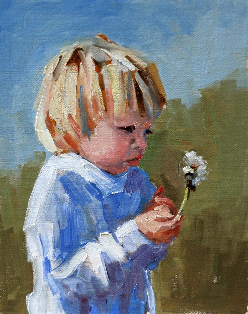 """jessie"" original fine art by Carol Carmichael"
