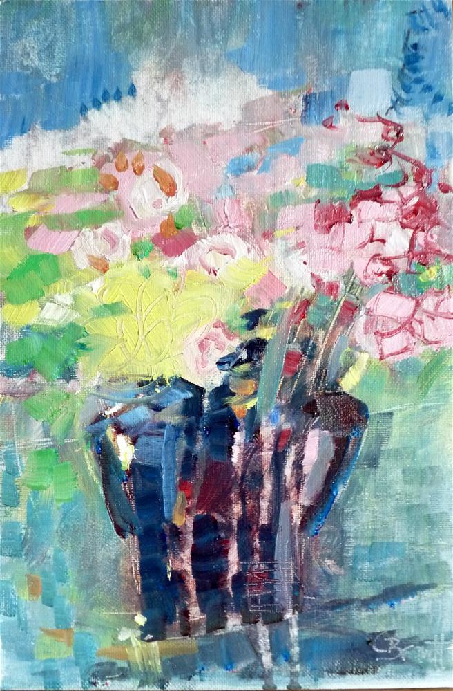 """Bouquet"" original fine art by Claudia Brandt"