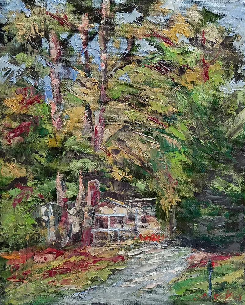 """Landscape 3"" original fine art by Gabriella DeLamater"