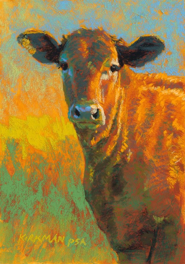 """Chuck"" original fine art by Rita Kirkman"