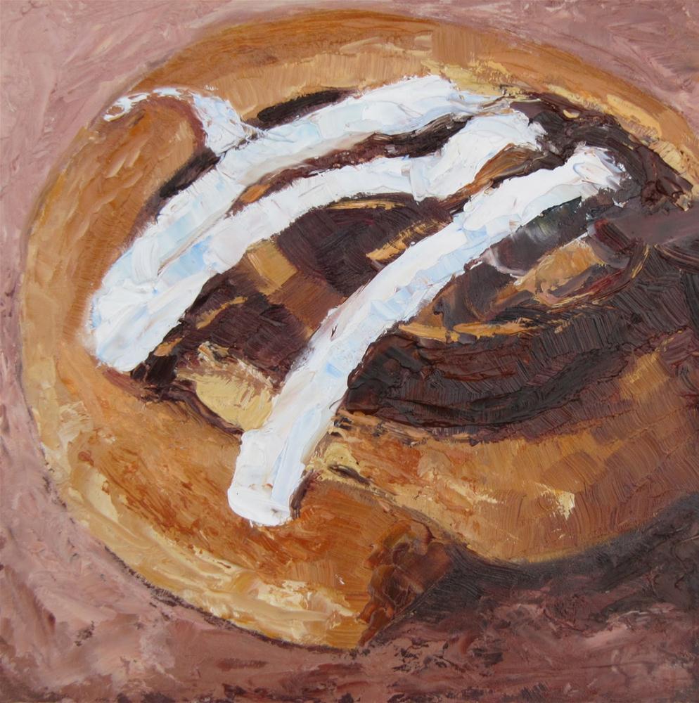 """""""Temptation!"""" original fine art by Steinunn Einarsdottir"""